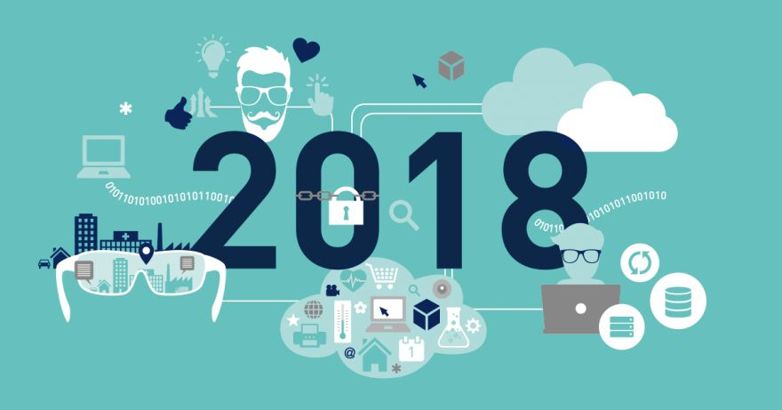 New digital marketing trends in 2018